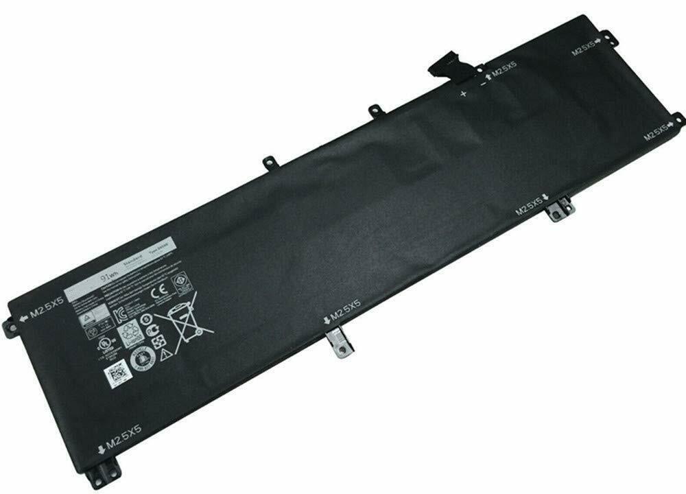 Accu voor Dell XPS 15-9550 7D1WJ H76MV H76MY M2.5X5(compatible)
