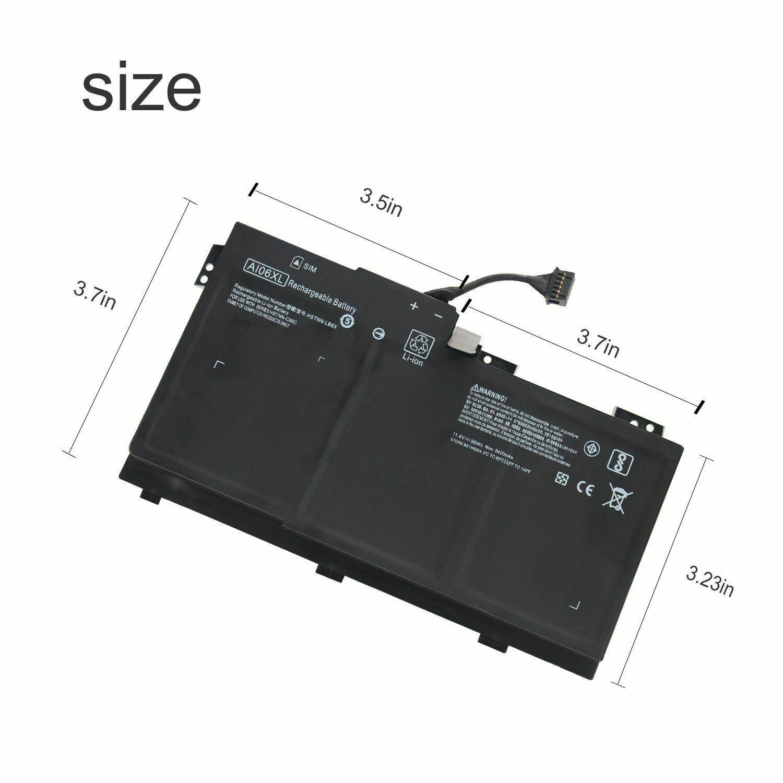 Accu voor AI06XL HP ZBook 17 G3 Series HSTNN-LB6X HSTNN-C86C 808397-421(compatible)