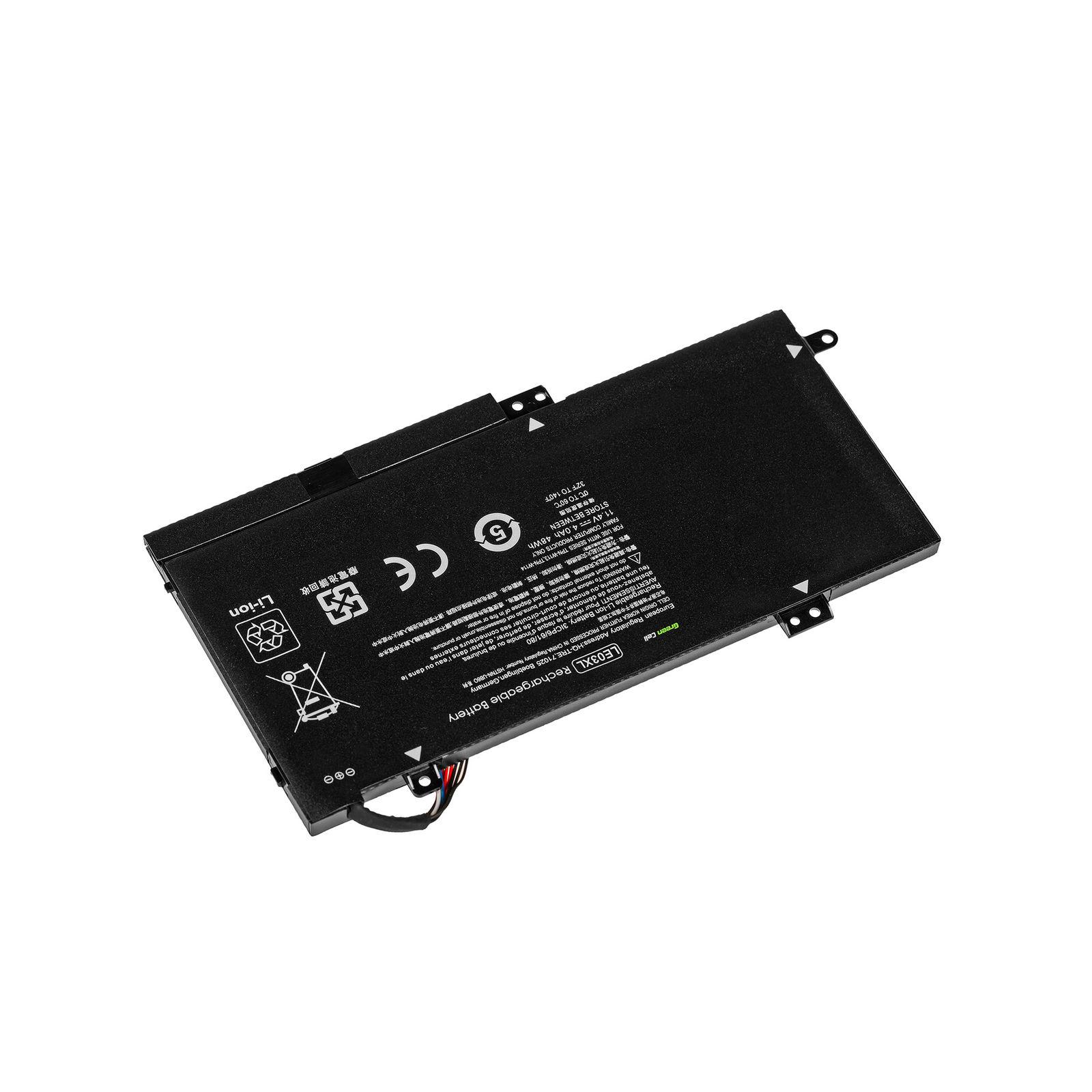 Accu voor HP Pavilion x360 15-BK057SA 15-BK060NA 15-BK060SA(compatibele batterij)